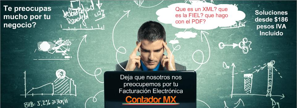 Despreocupate CFDI XML PDF FIEL 186
