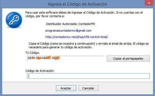 Codigo Control XML ContadorMx
