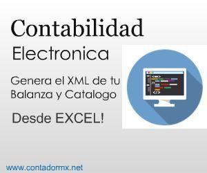 Contabilidad Electronica XML desde Excel