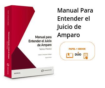 Manual Para Entender El Juicio De Amparo Teórico Práctico